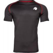 Gorilla Wear PerformanceT-Shirt - Zwart/Rood - M