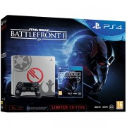 Consola Sony Playstation 4 Slim 1 TB Limited Edition + Star Wars Battlefront II Deluxe Edition (Gri)