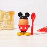 Mickey Mouse 90th Anniversary Egg Cup and Toast Cutter Set