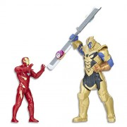 Avengers Infinity War Iron Man vs. Thanos Battle Set