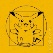 T-shirt Da Vinci Pikachu