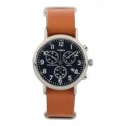 メンズ TIMEX TWG012800 BOX WEEKENDER 腕時計 ブラウン