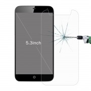 50 PCS 5.3 inch Mobile Phones 0.26mm 9H Surface Hardness 2.5D Explosion-proof Tempered Glass Film No Retail Package
