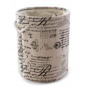 Cos textil rotund HIKAPO pentru depozitare, 0188109, 35xH38cm