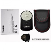 Canon RC-6 Wireless Remote Controller for Canon XT/XTi XSi T1i and T2i EOS 600d 550d 5d II 7d