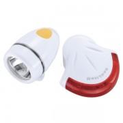 Topeak Set svjetiljki Highlite Combo II, bijela