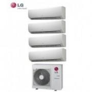 LG CLIMATIZZATORE LG QUADRI SPLIT INVERTER STANDARD 9+9+9+9 BTU con MU4M25 U43