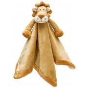 Teddykompaniet Diinglisar Snuttefilt Wild Lejon - Brun/Beige