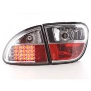 FK-Automotive LED feux arrières pour Seat Leon (type 1M) An 1999-2005, chrome