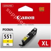 Canon ORIGINAL Canon Cartuccia d'inchiostro giallo CLI-551y XL 6446B001 11ml Cartuccie d�inchiostro