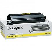 Тонер касета за LEXMARK C910/C912, Жълт, 14K 12N0770