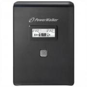 Аварийно захранване UPS POWERWALKER VI 2000 LCD, 2000VA, Line Interactive, POWER-UPS-VI2000LCD