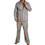 Hom Классическая мужская пижама из хлопка HOM Stripe Light 64712cM013