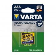 Varta 56703 - 2 buc Baterii reîncărcabile ACCU AAA NiMH/800mAh/1,2V