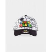 Nintendo - Super Mario Villains AOP Ställbar Keps