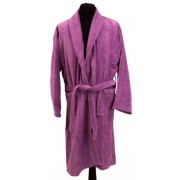 Borg Design Morgonrock - 100% Bomull - Borg Living - X-Large - Lavendel