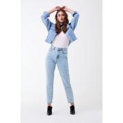 ''Gina Tricot'' ''Mom original jeans'' ''Snowwash (9980)'' 38