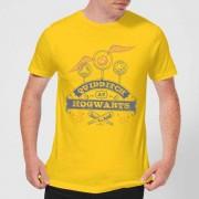 Harry Potter Camiseta Harry Potter Quidditch en Hogwarts - Hombre - Amarillo - XL - Amarillo