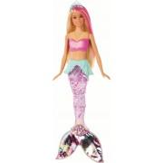 Mattel Barbie Dreamtopia Bambola Sirena Bionda con Coda Che Si Muove e Luci