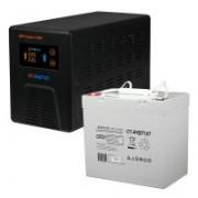 Комплект ИБП Инвертор Энергия Гарант 1000 + Аккумулятор 55 АЧ