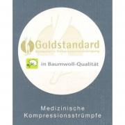Goldstandard Baumwolle Kompressionskniestrümpfe AD