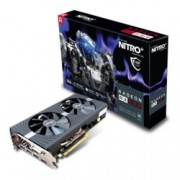 Видео карта AMD Radeon RX 580, 4GB, Sapphire Nitro+, PCI-E 3.0, GDDR5, 256-bit, DisplayPort, HDMI, DVI