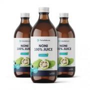 FutuNatura 3 x Succo di Noni - sistema immunitario, 500 ml