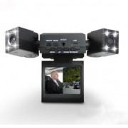 """TCC - Портативен DVR с 2.0"""" TFT LCD дисплей и две камери - видеорегистратор за кола"""