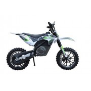 Moto Electrica Skate Flash Dirt Green