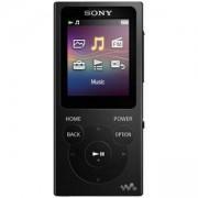 Mp3 плейър Sony NW-E394, Цифров, 8GB, Черен, NWE394B.CEW