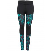 ONLY Printed Training Tights Kvinna Svart