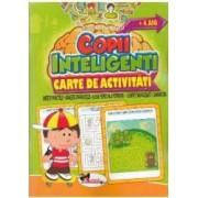 Jocuri pentru copii inteligenti. Carte de activitati +4 ani