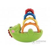 Jucarie crocodil cu rafturi colorate