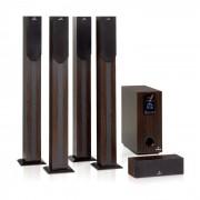 Auna Areal elegance, 5.1- csatornás rendszer, 190W, RMS, BT, USB, SD, AUX (MM-H6907-DarkWood)