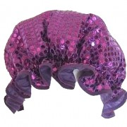 Shower Cap - Sparkly Purple