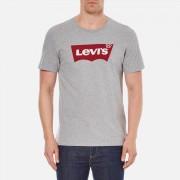 Levi's Men's Tab Graphic Set-In Neck T-Shirt - Grey - XXL - Grey