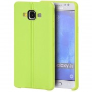 Funda Case para Samsung Galaxy J5 de Plastico tipo TPU Flexible -Verde