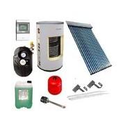 Základní solární sestava s kolektorem Apricus AP 30 a smaltovaným zásobníkem 200/2 výměníky