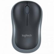 Безжична оптична мишка Logitech Wireless Mouse M185, Сива, 910-002238