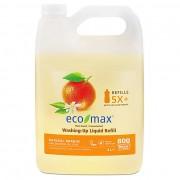 Eco Max Eco-Max Vloeibaar Afwasmiddel - Natuurlijke Sinaasappel 4L