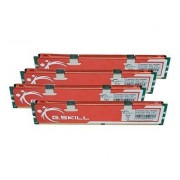 G.Skill MQ Series - DDR2 - 16 Go : 4 x 4 Go - DIMM 240 broches - 800 MHz / PC2-6400 - CL6 - 1.8 V - mémoire sans tampon - NON ECC