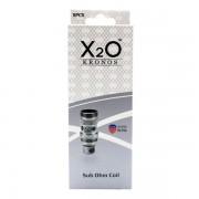 X2O Kronos Sub-ohm coils 0,3 ohm 5-pack