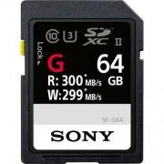 Sony 64GB 300MB/s SF-G Series UHS-II SDXC Tarjeta de Memoria