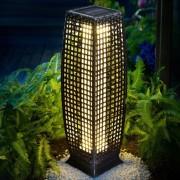 Zahradní lampa polyratan DEU940