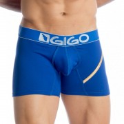 Gigo MARIAGE BLUE Long Boxer Underwear G04112
