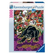 Ed Hardy: Black Panther - 1000 Piece Puzzle