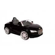 Toyhouse Audi R8 Spyder Rechargeable Battery Operated Ride On, Black