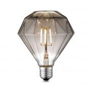 Home sweet home LED lamp Diamond E27 4W dimbaar - smoke