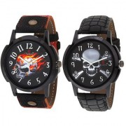 Evelyn Combo of 2 Men Watches EVE-382-380