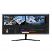 "Samsung LS34J550WQU 34.1"" LED 4K UltraHD FreeSync"